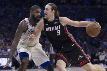 Amir Johnson Miami Heat vs. Philadelphia 76ers - Game One