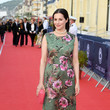 Amira Casar 34th Cabourg Film Festival : Closing Ceremony In Cabourg