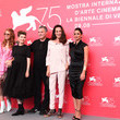 Amos Gitai 'A Letter To A Friend In Gaza And Tramway In Jerusalem' Photocall - 75th Venice Film Festival