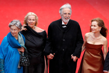"Isabelle Huppert director Michael Haneke ""Amour"" Premiere - 65th Annual Cannes Film Festival"