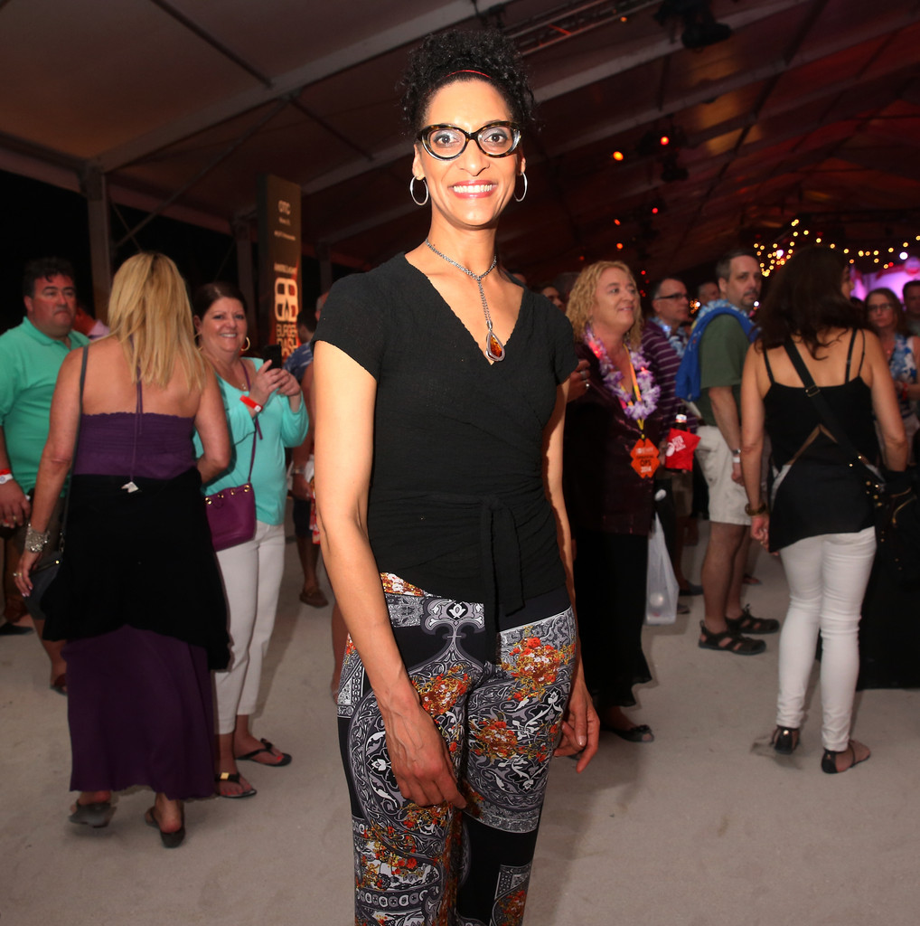 Carla Hall In Amstel Light Burger Bash Presented By Pat