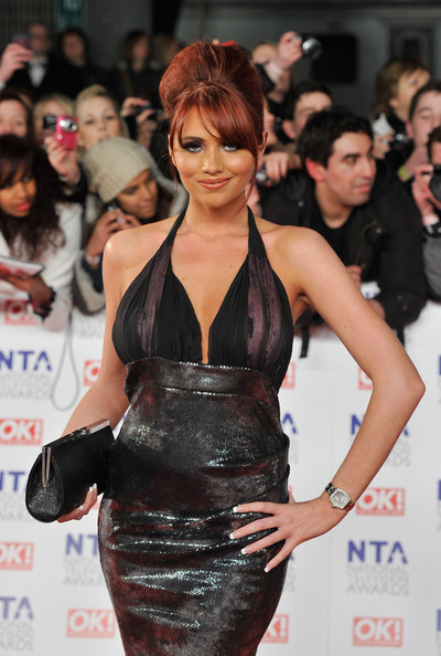 Amy Childs Amy Childs attends the National Television Awards at the O2 Arena