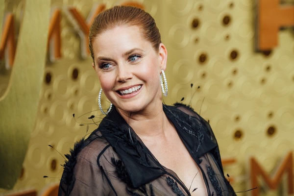 71st Emmy Awards - Arrivals [image,hair,beauty,lady,smile,hairstyle,yellow,blond,fashion,eye,photography,arrivals,amy adams,emmy awards,filters,los angeles,california,microsoft theater]