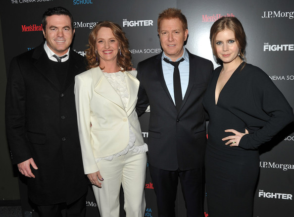 """The Cinema Society & Men's Health Host A Screening Of """"The Fighter"""" To Benefit The Cinema School - Arrivals [cinema society mens health host a screening of ``the fighter to benefit the cinema school - arrivals,the fighter to benefit the cinema school,suit,premiere,event,formal wear,tuxedo,white-collar worker,style,melissa leo,ryan kavanaugh,tucker tooley,amy adams,screening,sva theater,new york city,cinema society mens health]"""