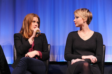 """Amy Adams Jennifer Lawrence The Academy Of Motion Picture Arts And Sciences Hosts An Official Academy Members Screening Of """"American Hustle"""""""