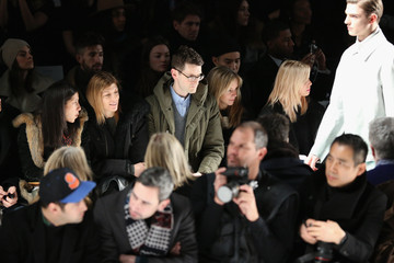 Amy Astley Gloria Baume Lacoste - Front Row - Fall 2013 Mercedes-Benz Fashion Week