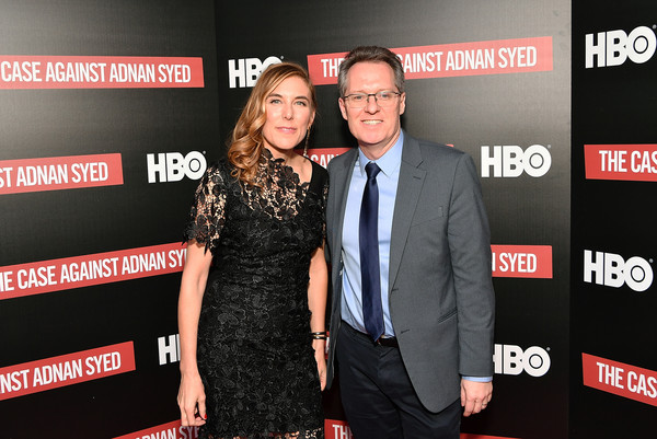 NY Premiere Of HBO's 'The Case Against Adnan Syed' At Pure Nonfiction [the case against adnan syed,event,premiere,carpet,flooring,red carpet,thom powers,amy berg,pure non fiction,host,ny,hbo,premiere,premiere]
