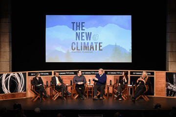 Amy Goodman New Climate Lunch Roundtable - 2017 Sundance Film Festival