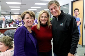 Amy Klobuchar 2018 Big Game Weekend Hearing Mission With Starkey Hearing Technologies