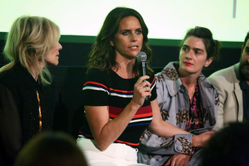 Amy Landecker The Cast Of The Amazon Prime Series 'Transparent' Attends A Screening Event For Members Of The Screen Actors Guild In New York