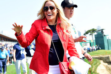 Amy Mickelson The Presidents Cup - Round One