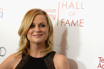 Amy Poehler Arrivals at the Hall of Fame Induction Gala