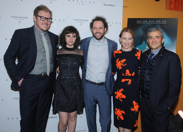 'Breathe In' Premieres in NYC