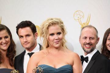 Amy Schumer Kevin Kane 67th Annual Primetime Emmy Awards - Press Room