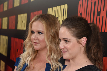Amy Schumer Kim Caramele Premiere of 20th Century Fox's 'Snatched' - Red Carpet