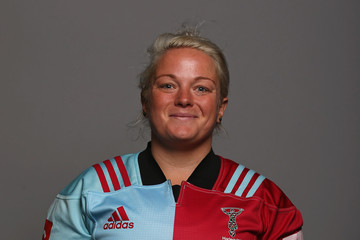 Amy Turner Harlequins Ladies Squad Photocall