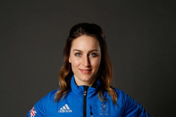 Amy Williams Team GB Kitting Out Ahead of Pyeongchang 2018 Winter Olympic Games