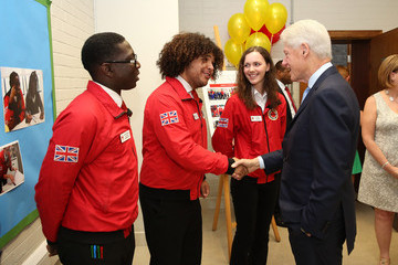 Amy Wright President Clinton Visits City Year UK