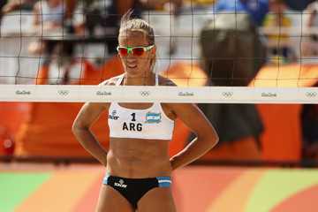 Ana Gallay Beach Volleyball - Olympics: Day 3