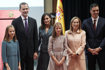 Ana Pastor King Felipe VI of Spain Spanish Royals Attend The Lecture Of The Constitution On Its 40th Anniversary