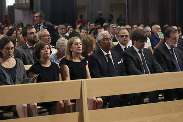 Ana Pastor Spanish Royals Attend Mass for Victims Terror Attacks