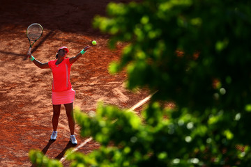 Anabel Medina Garrigues 2015 French Open - Day Four