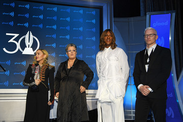 Anderson Cooper Madonna 30th Annual GLAAD Media Awards New York – Inside