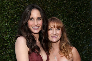 Andie MacDowell Arrivals at the Elton John AIDS Foundation Oscars Viewing Party — Part 2