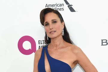 Andie MacDowell 24th Annual Elton John AIDS Foundation's Oscar Viewing Party - Red Carpet
