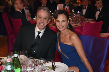 Andie MacDowell 2016 Elton John AIDS Foundation's Oscar Viewing Party