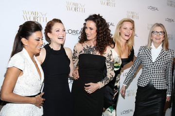 Andie MacDowell L'Oreal Paris' Ninth Annual Women Of Worth Celebration
