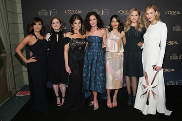 Andie MacDowell L'Oreal Paris Women of Worth 2015 Celebration - Arrivals