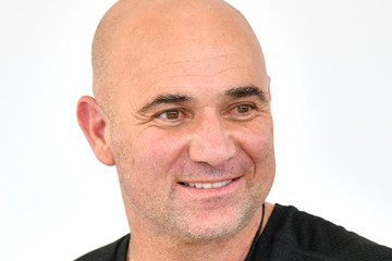 Andre Agassi Off Court at the 2018 Australian Open