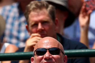 Andre Agassi Day Four: The Championships - Wimbledon 2017