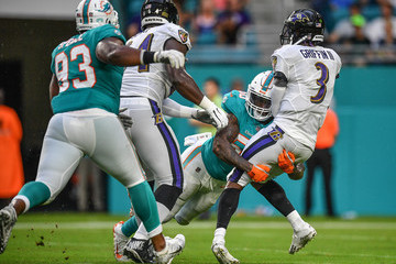 Andre Branch Baltimore Ravens v Miami Dolphins