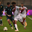 Andre Carrillo Peru v Argentina - South American Qualifiers for Qatar 2022