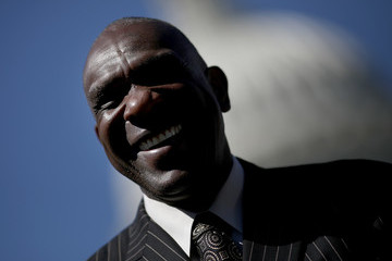 Andre Dawson 75th Anniversary Of The Integration Of Baseball Marked On Capitol Hill