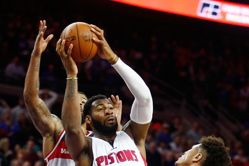 Andre Drummond Washington Wizards v Detroit Pistons