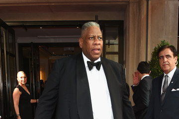 Andre Leon Talley The Mark Hotel Celebrates the 2017 Met Gala