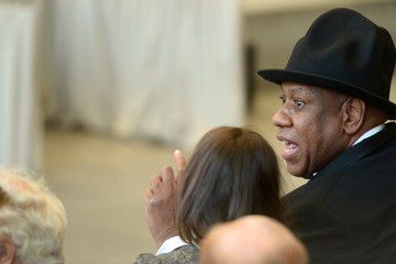 Andre Leon Talley Anna Wintour Costume Center Grand Opening
