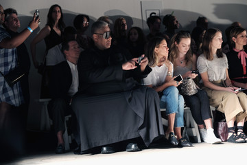 Andre Leon Talley Tracy Reese - Front Row - Spring 2016 New York Fashion Week