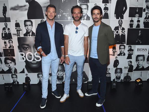 Champions Wear BOSS [cool,event,team,performance,style,champions,andre lotterer,lucas di grassi,jean-eric vergne,wear boss,l-r,champions wear boss,new york city]