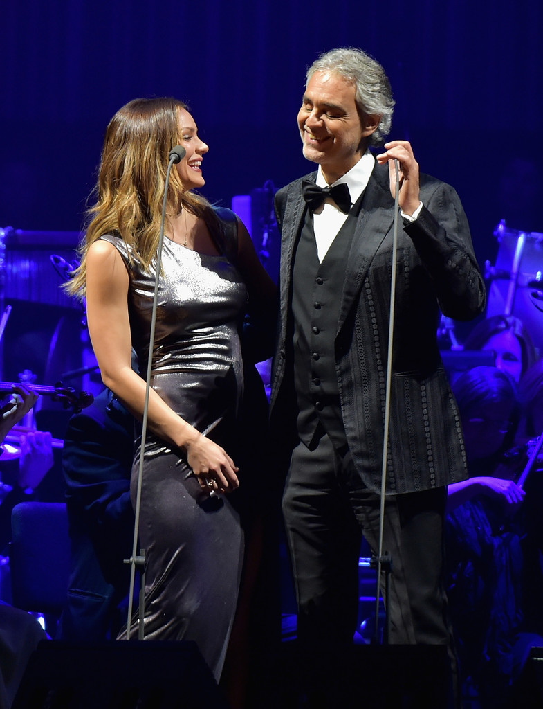 Katharine Mcphee And Andrea Bocelli Photos Photos Zimbio