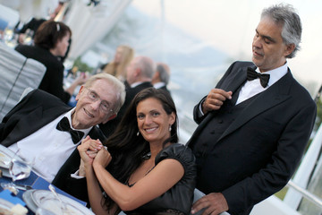 Andrea Bocelli Veronica Bocelli Alfred Mann Foundation's an Evening Under the Stars With Andrea Bocelli