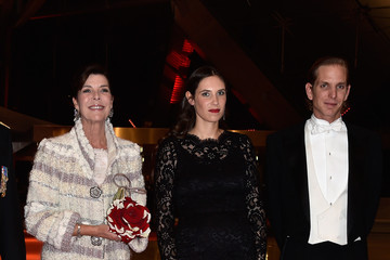 Andrea Casiraghi Monaco National Day Gala