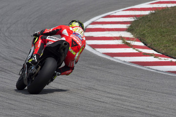 Andrea Iannone MotoGP Tests in Sepang - Day One