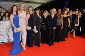Andrea McLean Sherrie Hewson National Television Awards - Red Carpet Arrivals