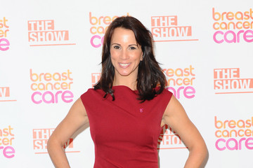Andrea McLean Breast Cancer Care's London Fashion Show
