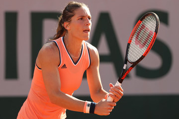 Andrea Petkovic 2018 French Open - Day Seven