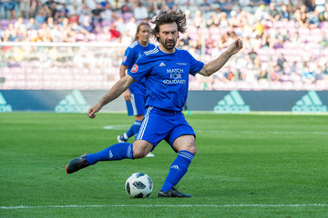 Andrea Pirlo UEFA Match For Solidarity